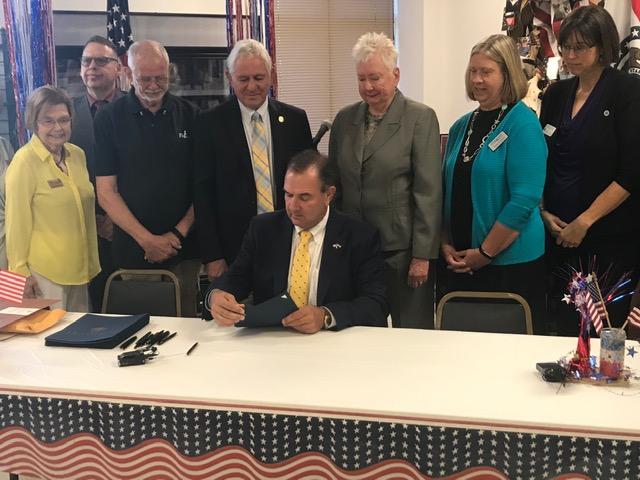 Lt. Gov. Mike Kehoe signs bill